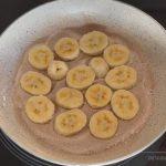 bolo feito na frigideira de banana