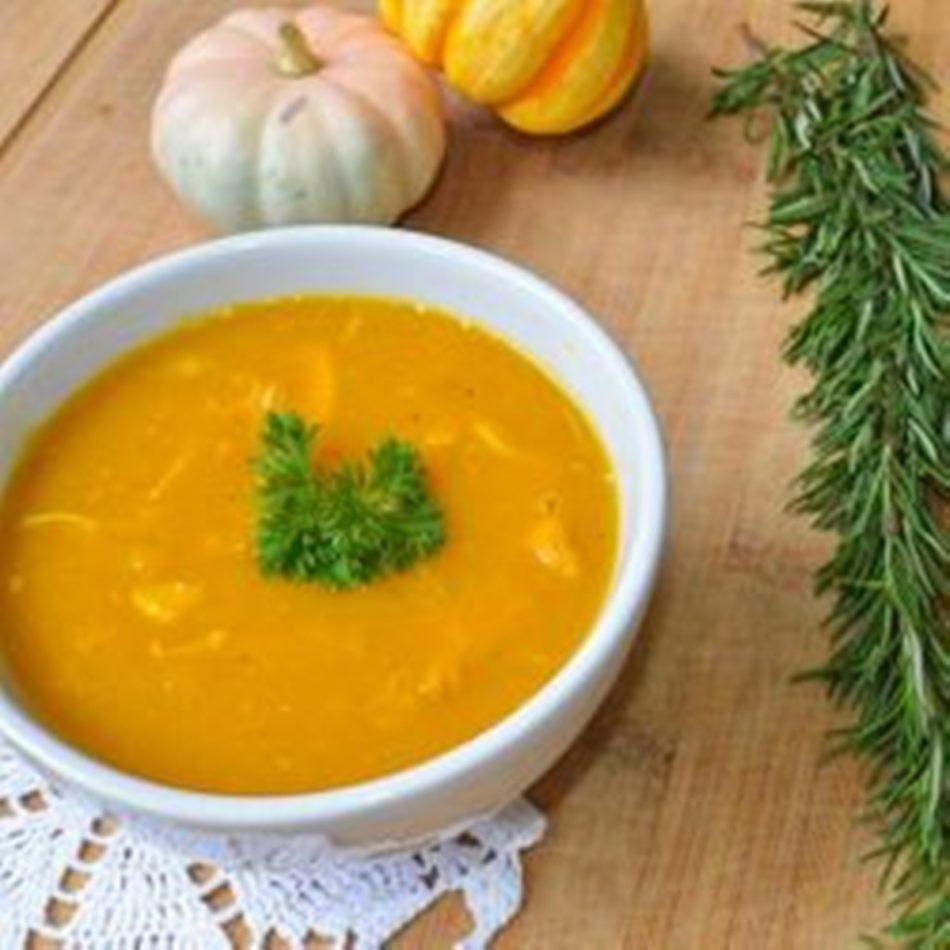 como fazer sopa de legumes cremosa
