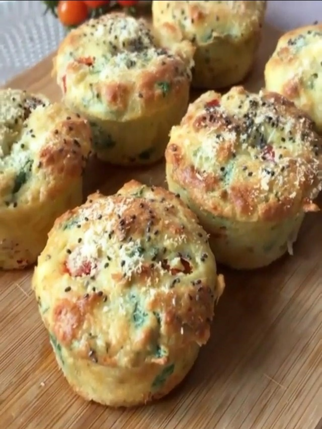 Receita de Muffin Fit de Queijo