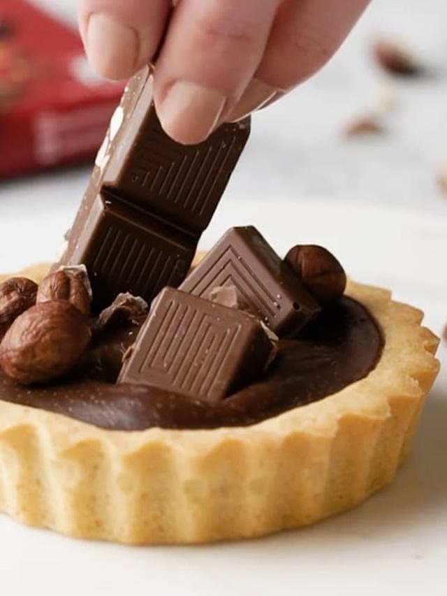 Receita de Tortinha de Chocolate