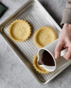 como fazer tortinhas de chocolate