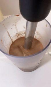 Receita de Bolo de aveia e chocolate cremoso